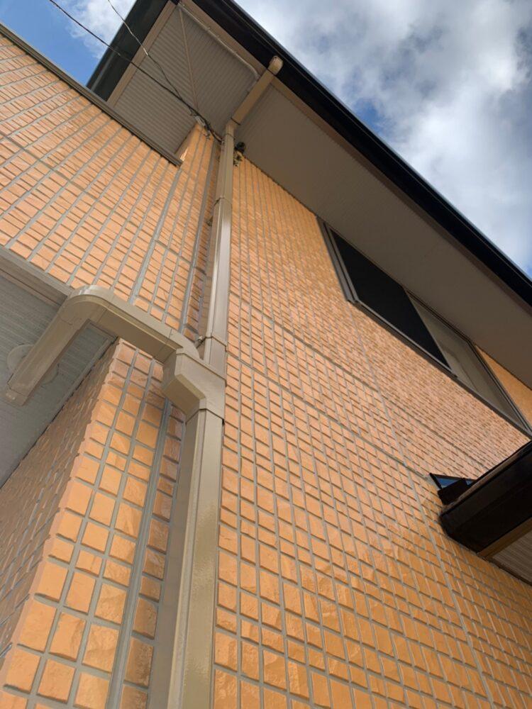 外壁塗装後の付帯部もきれいな仕上がりです。