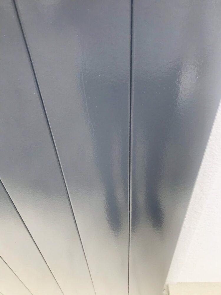 外壁塗装後、付帯部もキレイに仕上がりピカピカです。