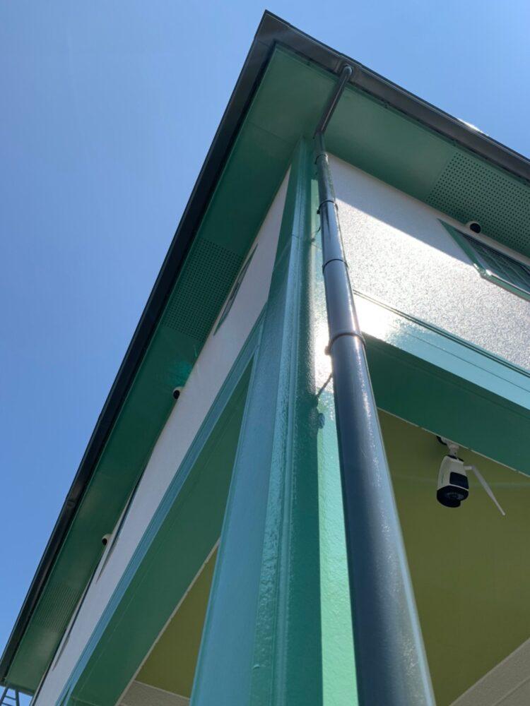 外壁屋根塗装後、付帯部トイも綺麗です、